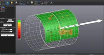 Software de control / de filmación de inspección / para la evaluación de la corrosión externa