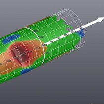 Software de control / para la evaluación de los daños mecánicos / de tuberías