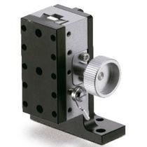 Platina de posicionamiento Z / de control manual / 1 eje / de cola de golondrina