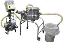Criba vibrante / para productos a granel / para polvos / para aplicaciones farmacéuticas