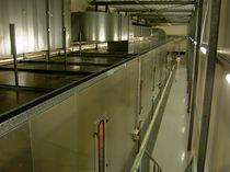 Secador de aire caliente / continuo / con transportador de cinta