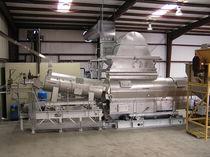 Esterilizador de proceso / de vapor / para la industria alimentaria / para frutos de cáscara