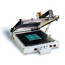 Impresora de patrones monocroma / para la electrónica / automática / en plano