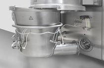 Granuladora de lecho fluidizado / para aplicaciones farmacéuticas