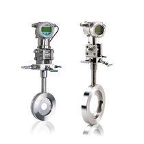 Caudalímetro de presión diferencial / de diafragma / para gas / compacto