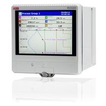 Registrador sin papel / USB / Ethernet / con pantalla táctil