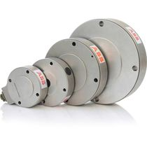 Celda de carga de tipo oblea / para control de tensión de bandas