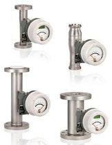 Caudalímetro de área variable / para líquido / con tubo de metal / de acero inoxidable