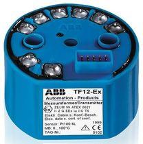 Transmisor de temperatura en cabeza de sonda / termopar / HART / PROFIBUS