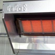 Calefactor radiante de gas