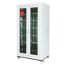 Armario de almacenamiento / para suelo / con puertas dobles / con estantes