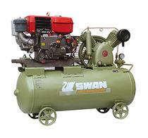 Compresor de aire / móvil / con motor diésel / de pistón
