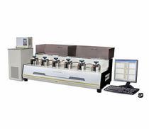 Aparato de medición de permeabilidad a los gases / para muestra de polímeros