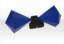 Antena de banda ancha / bicónica / móvil / de medición