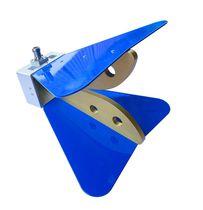 Antena de bocina / de radio / doble / de guía de ondas de cresta
