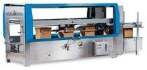 Precintadora de cajas de cartón de doble solapa / cinta adhesiva