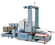 Paletizador por la base / para fardos pesados / para cajas / modular