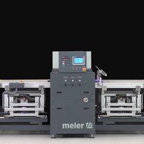 Máquina para aplicación de cola en caliente / rodillo de laminación / con pantalla táctil