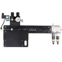 Sistema de secado por soplado de aire / endurecedor