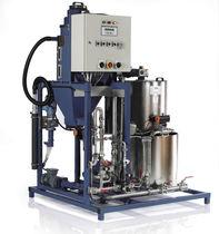 Mezclador-dosificador para polielectrolitos líquidos / de tornillo