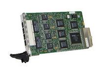 Tarjeta switch Ethernet 4 puertos / industrial
