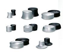 Botón pulsador unipolar / de aluminio / electromecánico / estándar