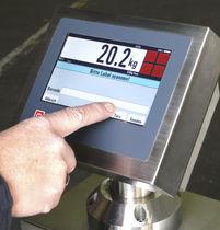 Indicador de temperatura / con pantalla táctil / para montaje sobre panel