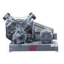 Compresor de aire / de pistón / lubricado / móvil