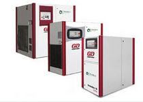 Compresor de aire / con tornillo / de inyección de agua / estacionario