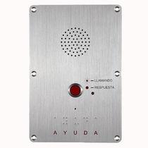 Interfono de control de acceso / estanco / IP / aleación de aluminio