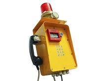 Teléfono antideflagrante / IP66 / resistente a las intemperies / SIP