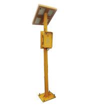 Soporte para teléfono de emergencia / con paneles fotovoltaicos / de acero / de metal