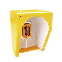 Cabina de teléfono / de insonorización / para zona peligrosa / para entorno ruidoso