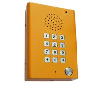 Interfono de emergencia / para ascensor / antivandalismo / reforzado