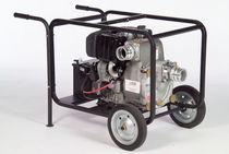 Bomba para aguas residuales / con motor diésel / centrífuga / autocebante