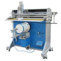 Máquina de serigrafia automática / para bidones / en plano