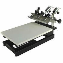 Máquina de serigrafia manual / de 1 color / para textiles / para la industria papelera