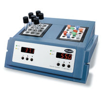 Calentador de bloques doble / para tubos de ensayo / digital