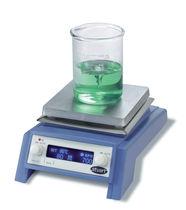 Agitador de laboratorio magnético / horizontal / digital / de placa caliente