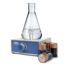 Agitador de laboratorio magnético / horizontal / analógico / compacto