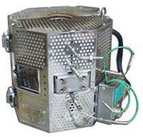 Horno tubular / de tipo armario / eléctrico / de laboratorio