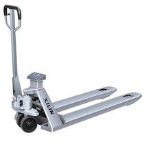 Transpaleta manual / de pesaje / de acero inoxidable