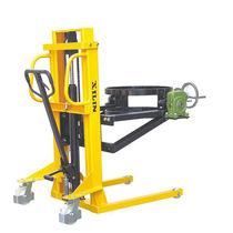 Apiladora manual / con operador a pie / para barriles / de acero