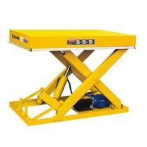 Mesa elevadora de tijera / hidráulica / estacionaria / de muelle de carga