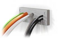 Placa de entrada de cable IP65 / IP66 / para armarios eléctricos / para aplicaciones higiénicas