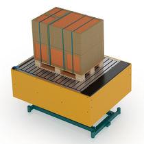 Plataforma elevadora de tijera fija / para uso en interiores y exteriores / hidráulica