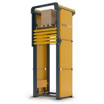 Ascensor de columnas / mecánico / para palés / motorizado