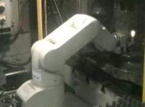 Robot articulado / 5 ejes / de automatización de prensa / industrial