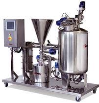 Mezcladora batch / con bomba centrífuga / líquido-sólido
