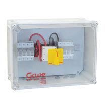Caja eléctrica equipada / de plástico / para aplicaciones fotovoltaicas